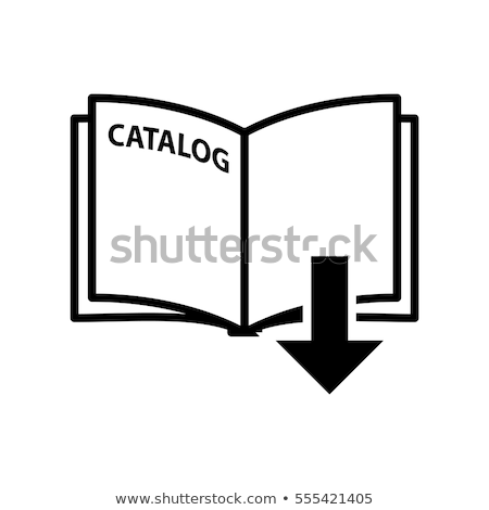 Eelectronic Book with Open Page and Arrows Icon Stock photo © robuart