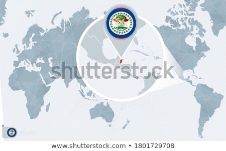 zászló · Belize · világ · Föld · művészet · utazás - stock fotó © kyryloff