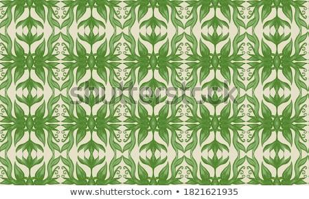 Foglie verdi stile semplice forme natura Foto d'archivio © user_10144511