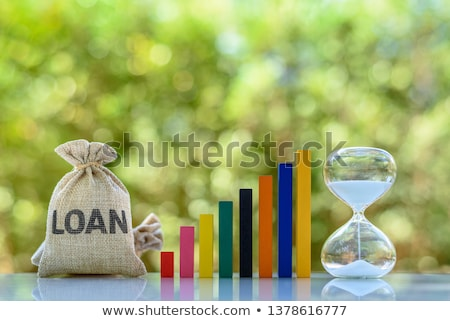Term loan, Long-term repayment period. Stock photo © olivier_le_moal