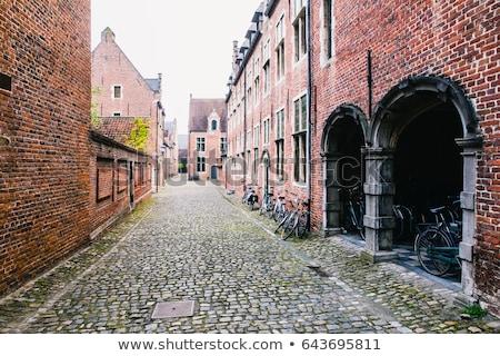 Bélgica bem conservado histórico trimestre dúzia Foto stock © borisb17