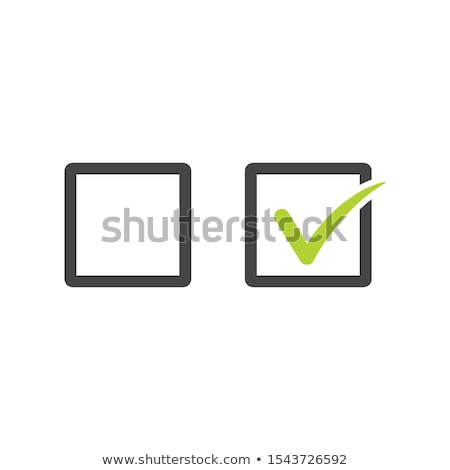 チェック チェックボックス セット 行 芸術 ベクトル ストックフォト © kyryloff