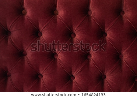 Red luxury velour quilted sofa upholstery with buttons, elegant  Stock photo © Anneleven