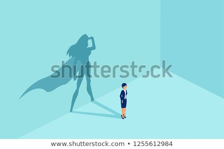 Business Ambitions, Employee Leadership Vector Stock photo © robuart