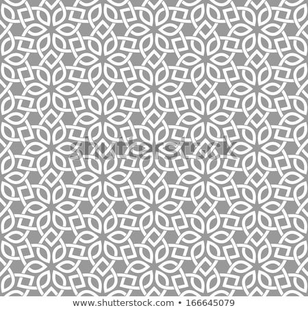 Traditional arabian geometrical seamless pattern. Stock photo © Artspace