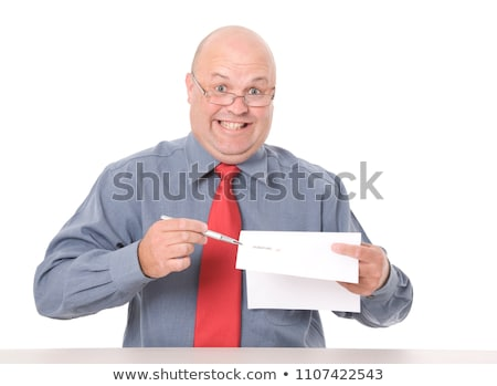Pushy Salesman Stock photo © lisafx