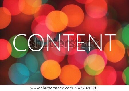 Content Is King Crown Paper Concept Stock photo © ivelin