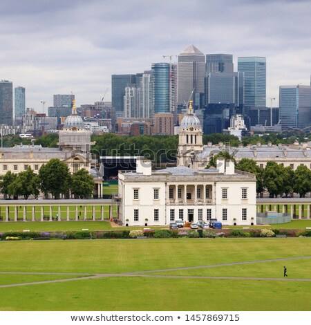 Greenwich and Canary Wharf Stock photo © fazon1