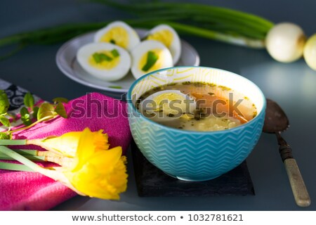 Húsvét fanyar liszt leves reggeli Stock fotó © Dar1930