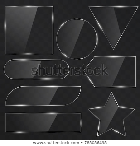 colored empty glass button Stock photo © fotoscool