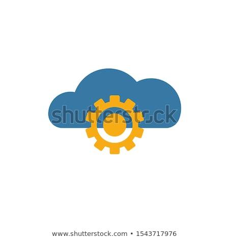 雲 ストレージ アイコン ベクトル 実例 ストックフォト © pikepicture