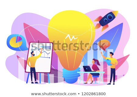 Vision statement vector concept metaphor Stock photo © RAStudio