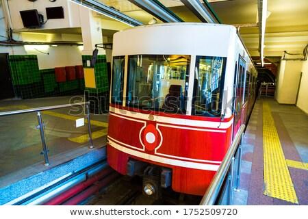 Tunnel funicular train in Istanbul Stock photo © bloodua