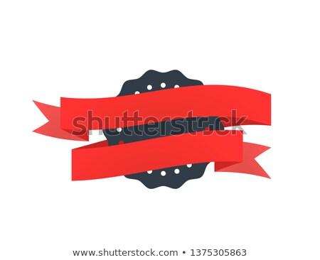 Fekete öreg kitűző bürokrácia fehér izolált Stock fotó © evgeny89