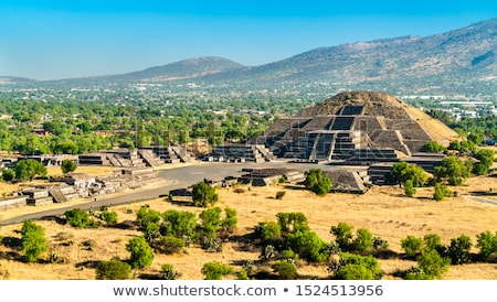 Pyramid of the Moon. Teotihuacan, Mexico Stock photo © dmitry_rukhlenko
