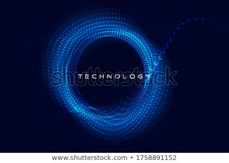 Particelle tecnologia testo spazio abstract Foto d'archivio © SArts