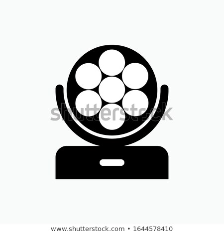 Prezentacji wektora ikona odizolowany biały działalności Zdjęcia stock © smoki