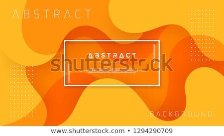 soyut · kırmızı · turuncu · dinamik · dizayn · siyah - stok fotoğraf © orson