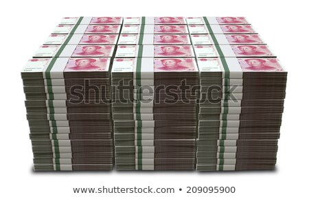 wad of chinese yuan stock photo © zkruger