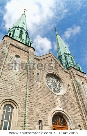 Sainte Cecile Church in Montreal Stock photo © aladin66
