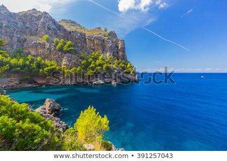 пляж · Майорка · острове · морем · синий · расслабиться - Сток-фото © lunamarina