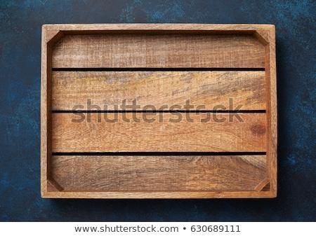 Fa fehér háttér textúra doboz posta Stock fotó © creisinger