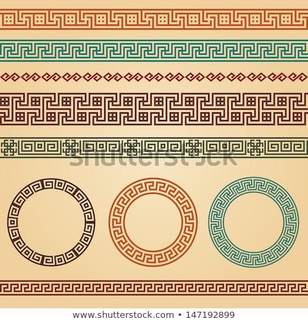 çerçeve Meksika semboller pencere sanat Stok fotoğraf © dayzeren