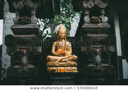 buddha image in bali indonesia stock photo © travelphotography