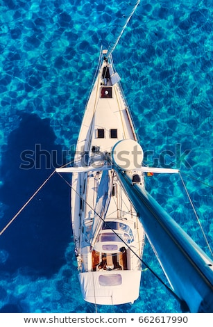 Luxury yachts in Formentera marina Stock photo © lunamarina