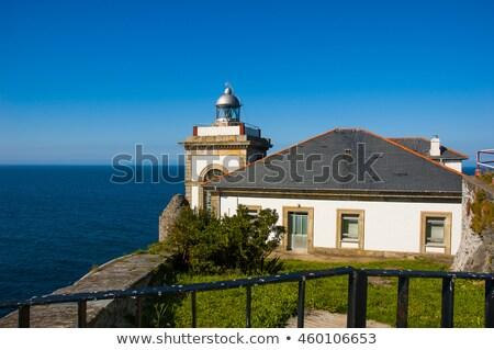 Luarca lighthouse stock photo © arocas
