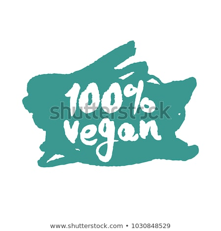 abstract hundred percent organic stamp Stock photo © pathakdesigner