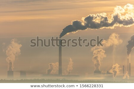 курение завода старые Сток-фото © schizophrenia