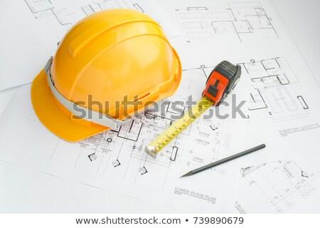 lakásügy · projekt · építészet · művészet · tudomány · épületek - stock fotó © redpixel