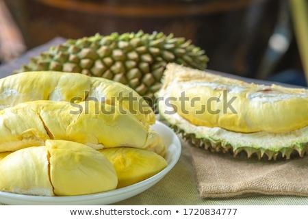 Close up of peeled durian flesh Stock photo © jakgree_inkliang
