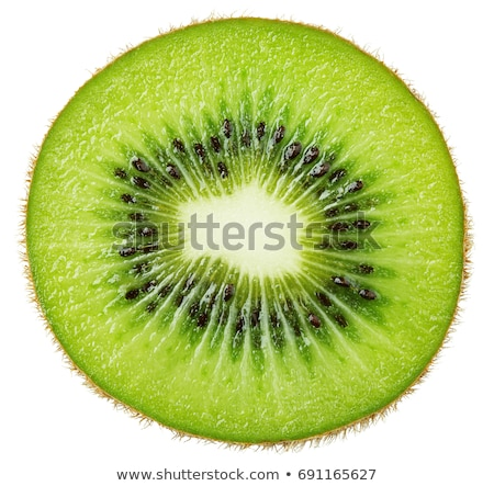 sliced kiwi fruit stock photo © jayfish