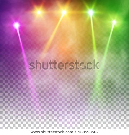 Colorido luzes abstrato escuro globo Foto stock © marinini