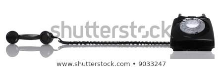 telefoon · af · haak · afbeelding · oude · kantoor - stockfoto © rtimages