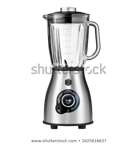 Stock photo: Food processor isolated on a white