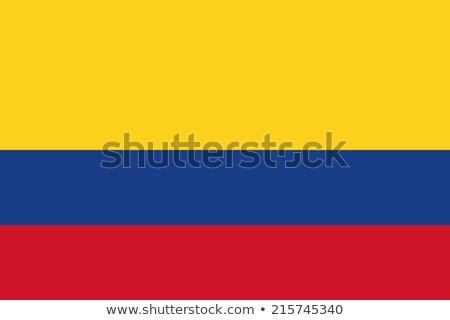 grunge · Colombia · zászló · vidék · hivatalos · színek - stock fotó © stevanovicigor