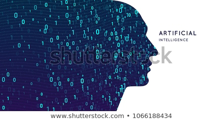 Conceptual image for data binary inetrnet Stock photo © arcoss