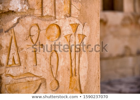 Hatshepsut temple detail Stock photo © sophie_mcaulay