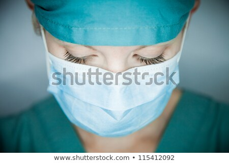 Nurse looking disappointed close up Stock photo © wavebreak_media