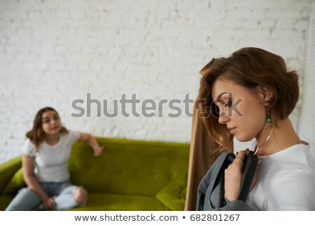 女性 立って ブティック 服 ストックフォト © wavebreak_media