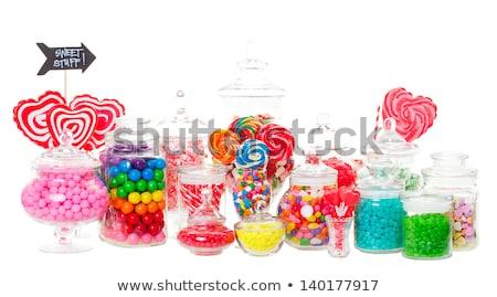 конфеты · буфет · широкий · разнообразие · конфеты · выстрел - Сток-фото © kmwphotography