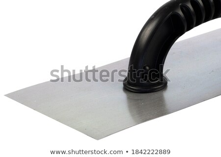 Man with knife and grout float Stock photo © photography33
