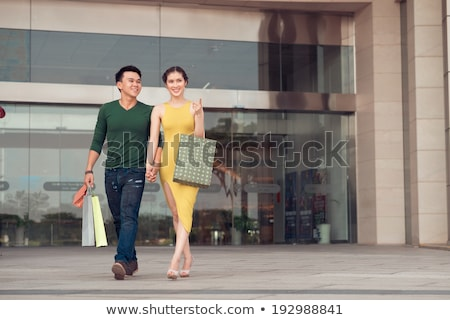 family exit shop Stock photo © Paha_L