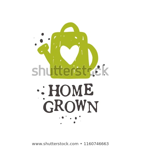 home grown rubber stamp stock photo © thp