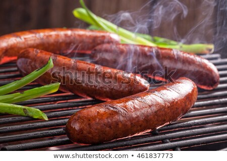 Linked sausage Stock photo © timbrk