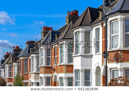 English terraced houses stock photo © gophoto