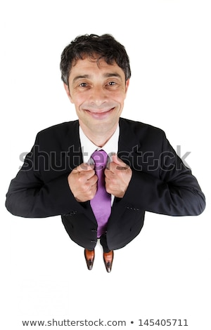 Eager to please businessman Stock photo © smithore